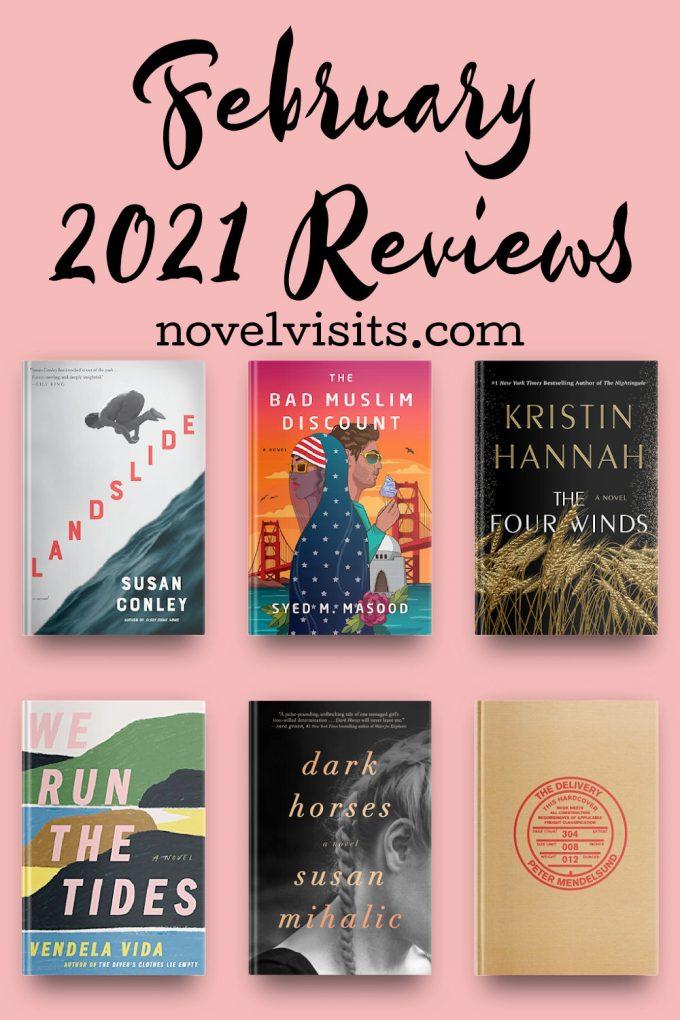 Novel Visits' February 2021 Book Reviews