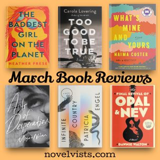 Novel Visits' March 2021 Book Reviews