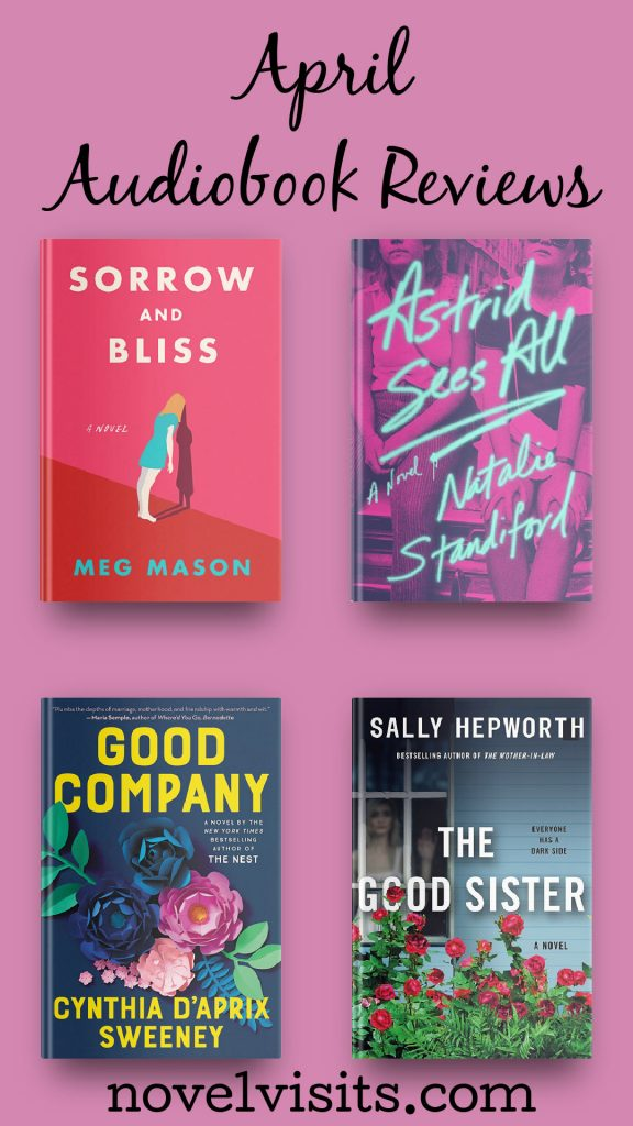 Novel Visits' April Audiobook Reviews