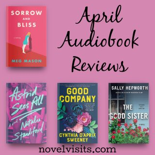 Novel Visits' April Audiobook Reviews