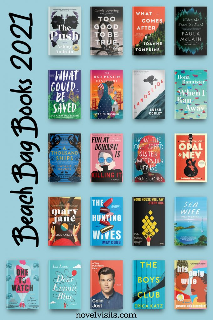 Novel Visits' Beach Bag Books 2021
