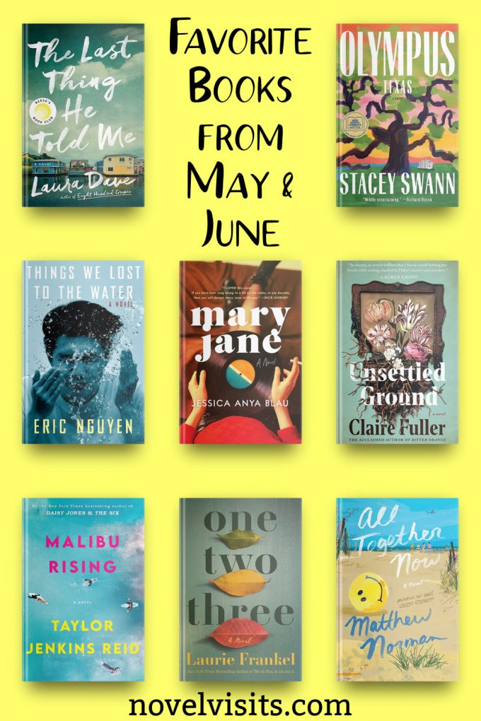 Novel Visits - Favorite Books from May & June 2021