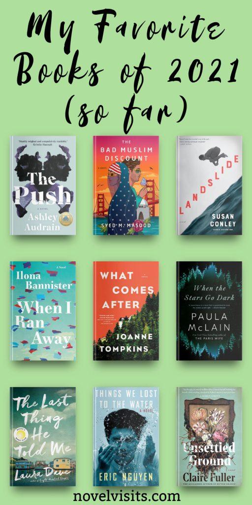 Novel Visits' My Favorite Books of 2021 (so far)