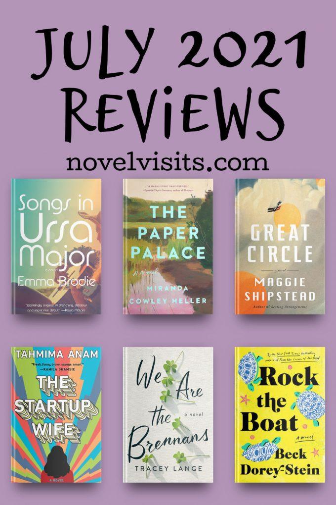 Novel Visits' July 2021 Book Reviews
