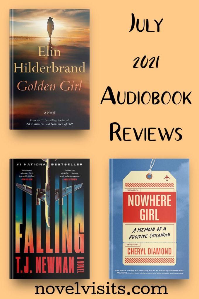 Novel Visits' July Audiobook Reviews