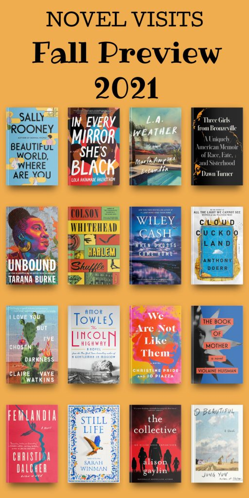 Novel Visits ~ Fall Preview 2021 - 16 Books to Read this Fall