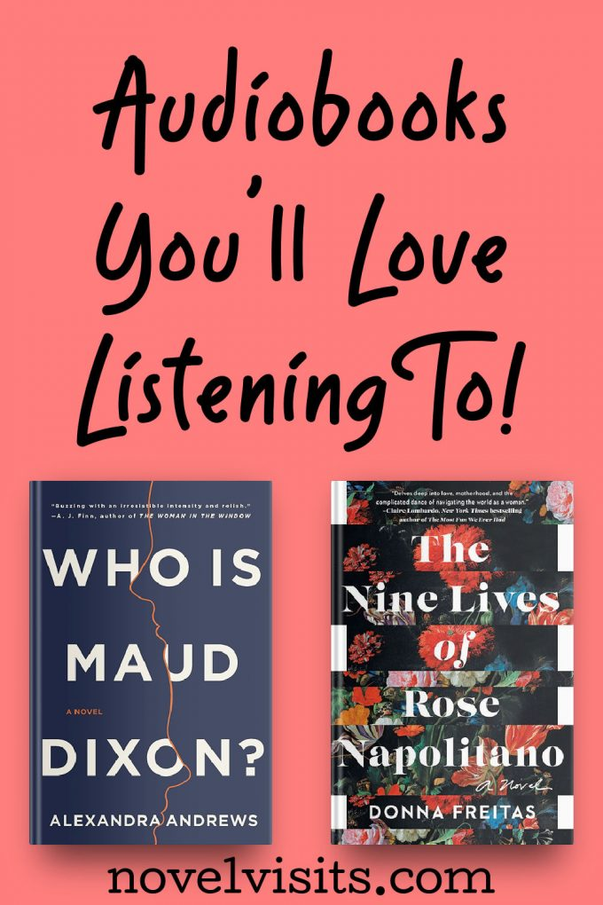 NOVEL VISITS' Audiobooks You'll Love Listening To!