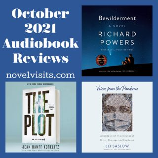 Novel Visits - October 2021 Audiobook Reviews